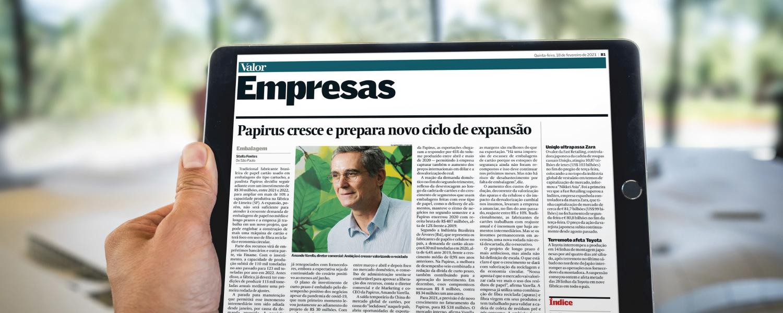 Entrevista Papirs Valor Econômico